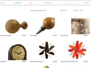 Marketplace website in Joomla