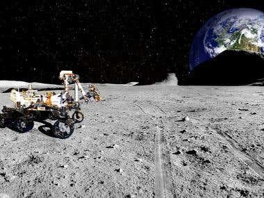 Night on the Moon