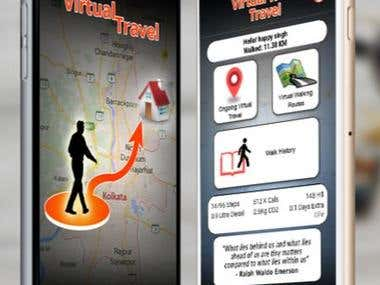 Virtual World Travel Mobile App