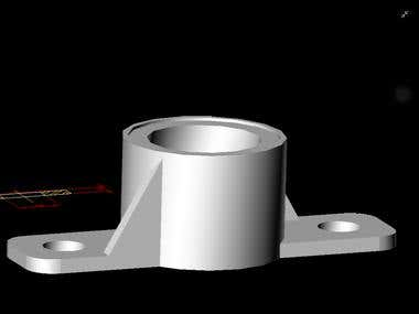 Mechanical Piece Design 3d