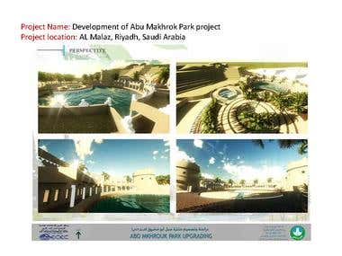 Development of Abu Makhrok Park project