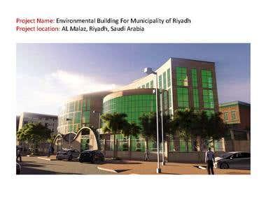 Environmental Building For Municipality of Riyadh