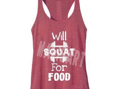 Gym T-Shirts Designs.