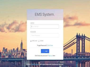 Online Employee Managment System (EMS System)