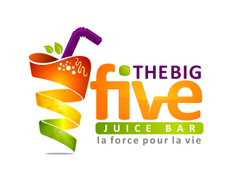 LOGO FIVE JUICE