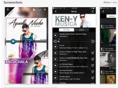 KEN-Y Music based app- chat module
