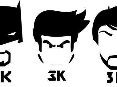 Logo for 3K