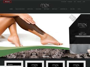 Woocommerce development. http://mizk3.nfshost.com/