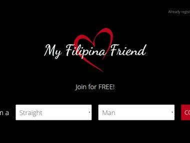Design and Developed Dating website
