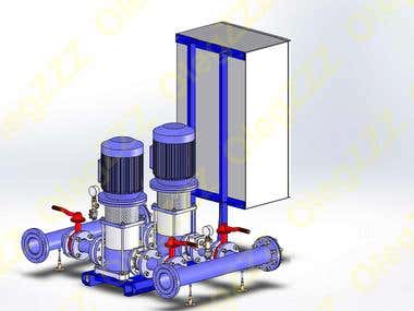 Development of automatic pressure boosting systems