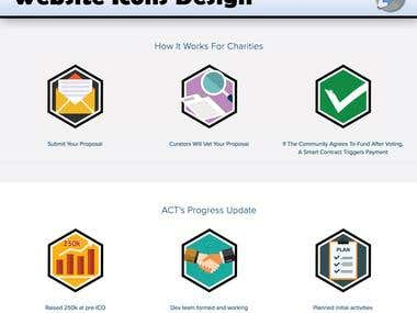 Website Icons Design