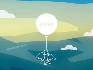 Peace in these days | i l l u s t r a t i o n