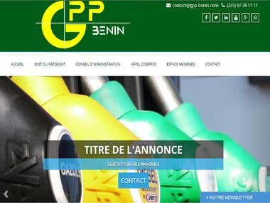 Website of a Professional Association of the Petroleum