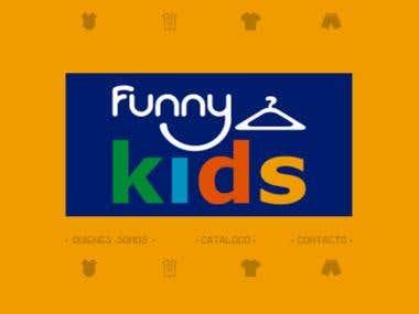 Desarrollo Web para Funny Kids