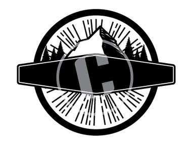 Mountain Hipster Logo