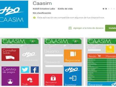 Aplicación Mobil CASSIM
