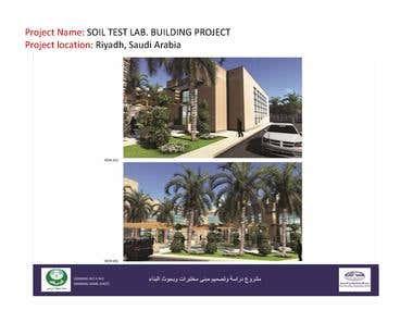 SOIL TEST LAB. BUILDING PROJECT