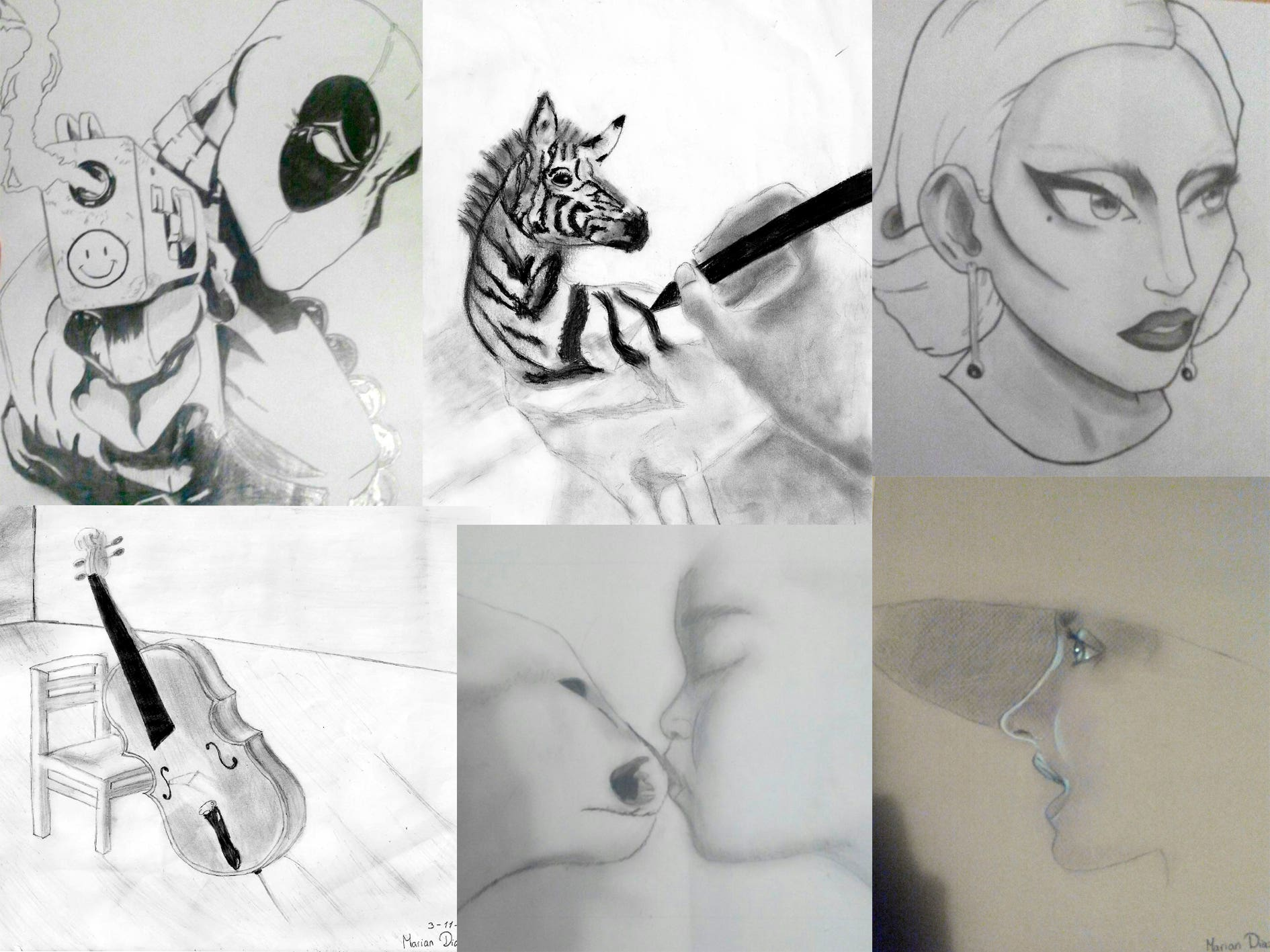 Dibujos hechos a mano