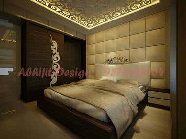 I will create 3D Model and Design in your Interior work
