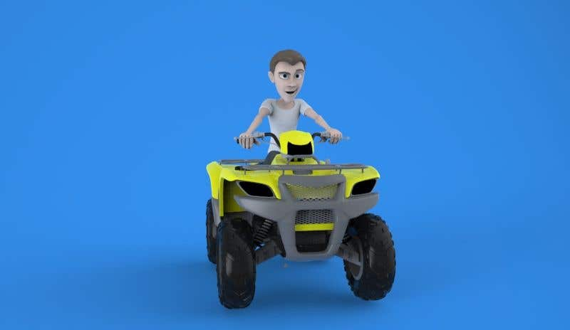 character for quad bike