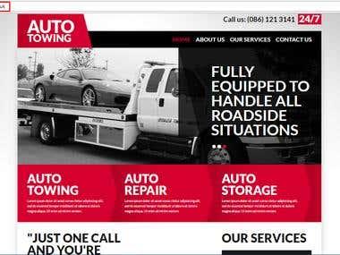 Joomla Towing Website