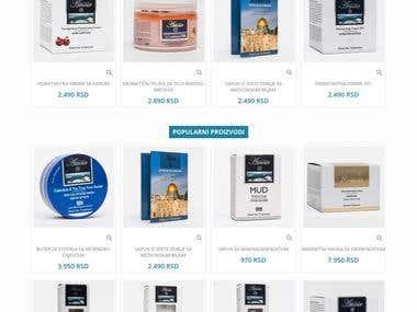 Prestashop 1.7 online store
