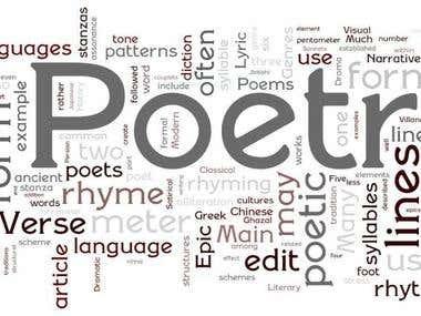 Poetry & Story telling