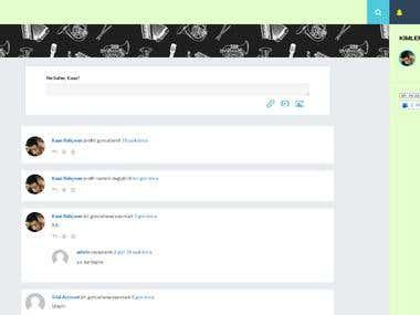 Social Network Website Development