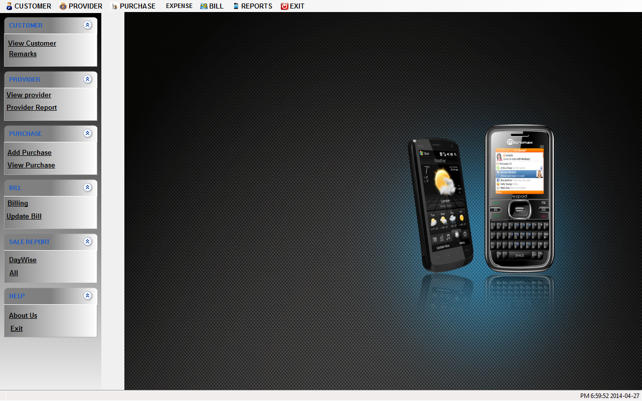 Billing Software For Mobile shop