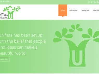Skilled based Company Website