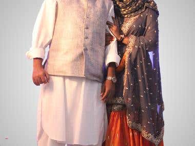 BHAI-BHABI (brother and his wife)