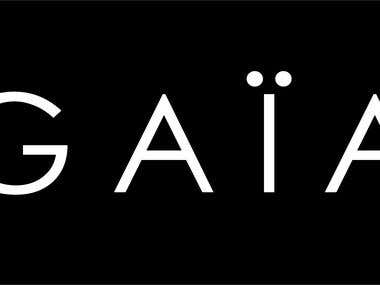 GAÏA Clothing Brand Logo