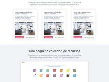 Diseño y desarrollo web portfolio Jennifersd