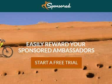 Online Sponsorship System