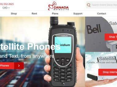 Canada Satellite - eCommerce Development