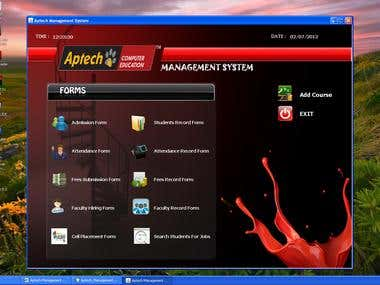Aptech Management System