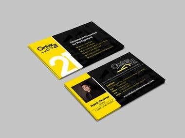 Business card - Century 21