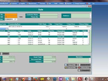 Billing Software For Tyre Shop