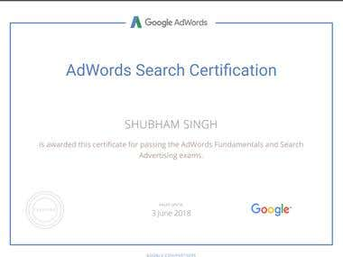 Google Adwords and Digital Marketing