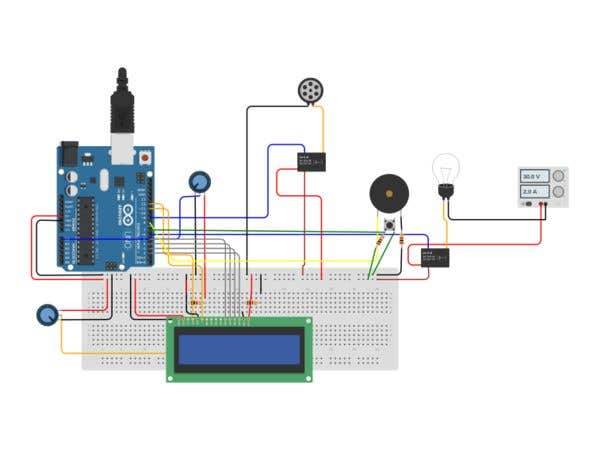 Arduino programming and electronics circuits