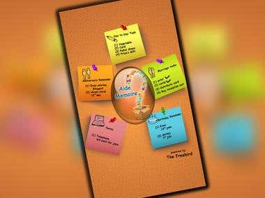 AIDE MEMOIRE - An All in One Genius Organizer