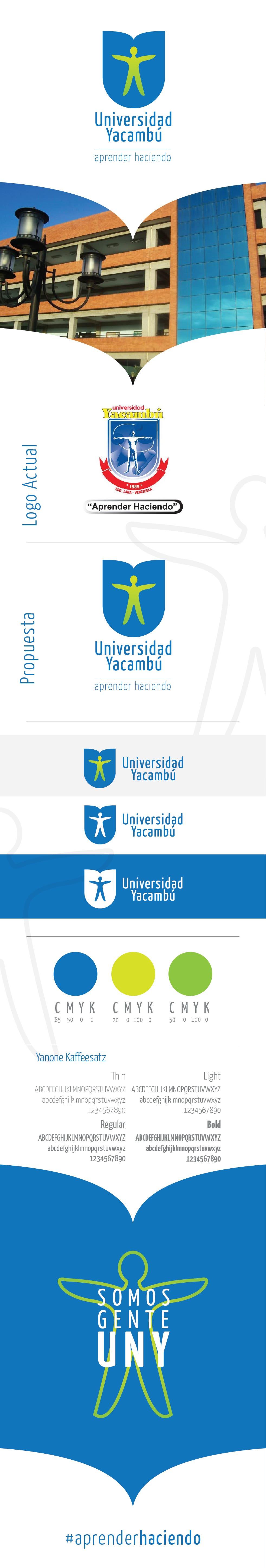 Universidad Yacambú / Rebranding