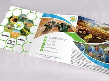 Corporate Identity - Logo brochure and business card