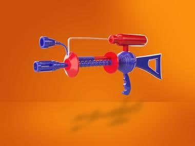 Mars Attacks! Gun