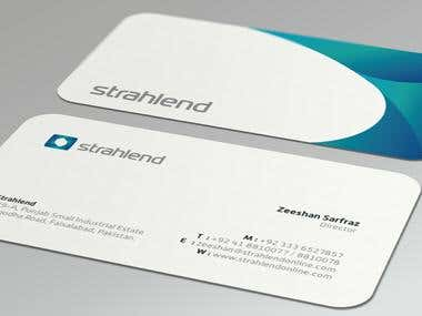 Example Business Card