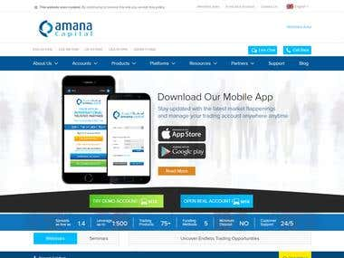 Amana Capital | Online Forex Trading