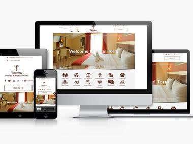 Joomla CMS web site