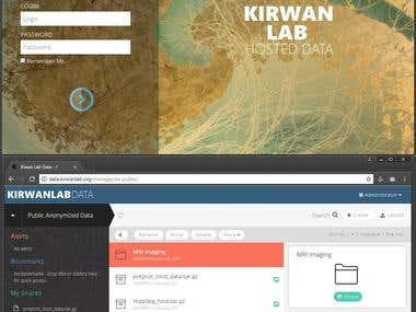 Kirwan Memory Lab Data Hosting