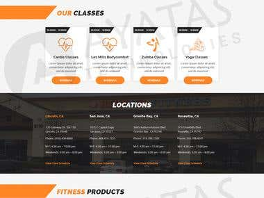 Fitness site