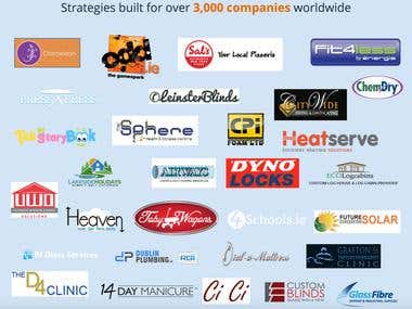 Strategies built for over 3,000 companies worldwide